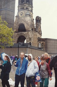Marathon in Berlin 1988